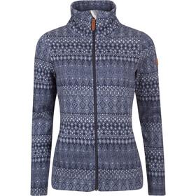Elkline Glaciertour Fleece Jacket Women blueshadow